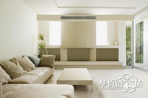 客厅暖气安装效果图