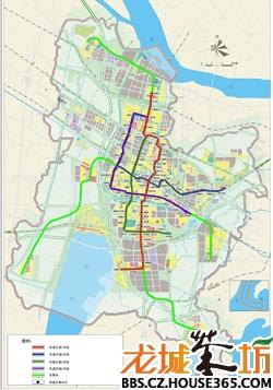 地铁线路规划图-楼市大家谈