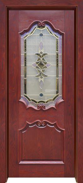 佳禾豪格实木镶嵌玻璃门系列