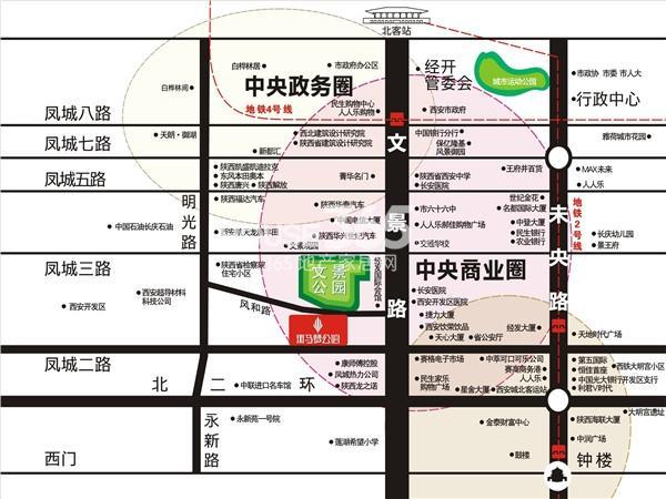 斑马梦公馆交通图
