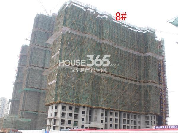 弘阳广场8#楼工程进度图(2015.3)