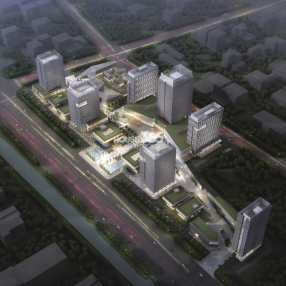 中科创新广场鸟瞰图