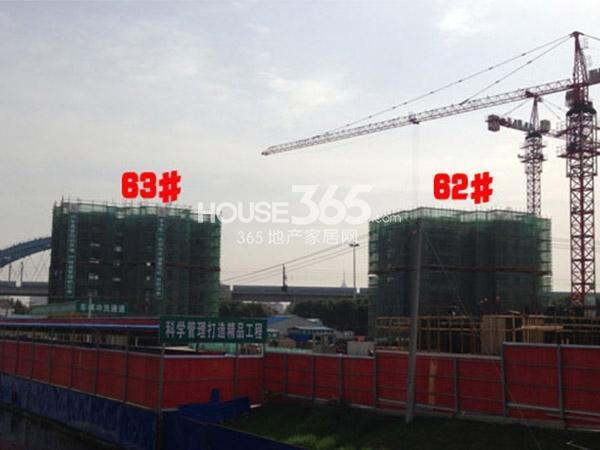 九洲花园缇香郡62、63#工程进度(2015.3)