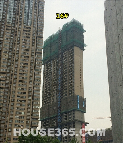 世茂外滩新城施工实景(5.23)