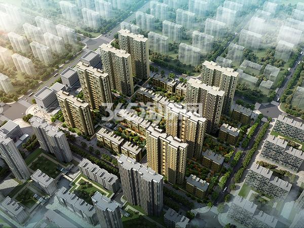 安联生态城鸟瞰图