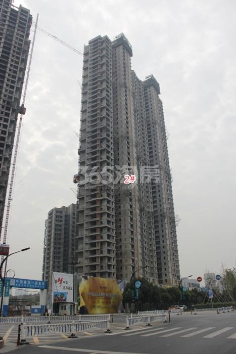 理想银泰城项目2号楼施工进程图(2015.10)