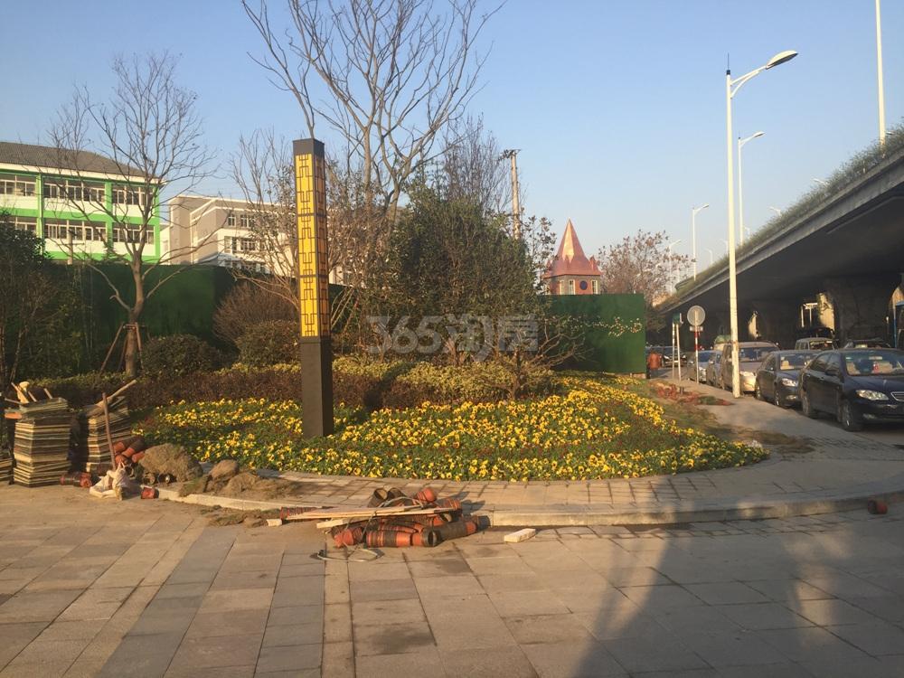 禹洲吉庆里实景图(12.16)