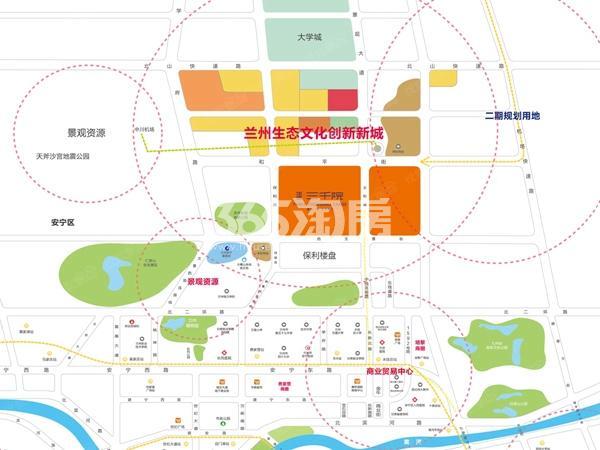 华远三千院交通图