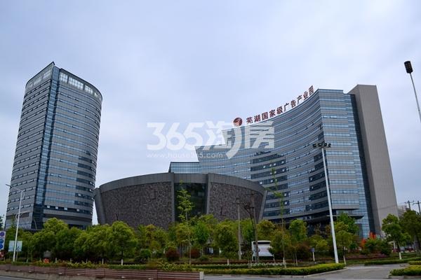 项目西北边200米芜湖国际级广告产业园