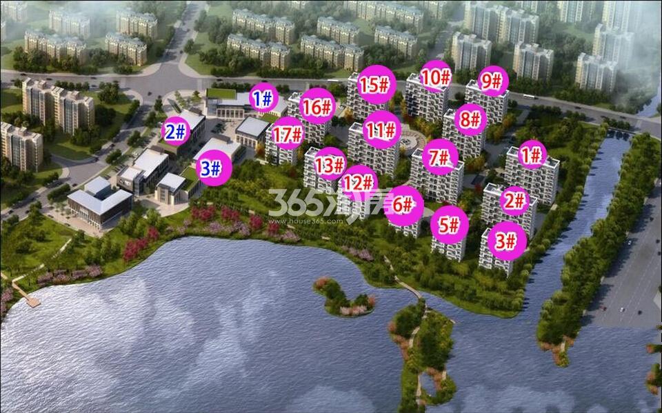 金基·碧水豪庭鸟瞰图