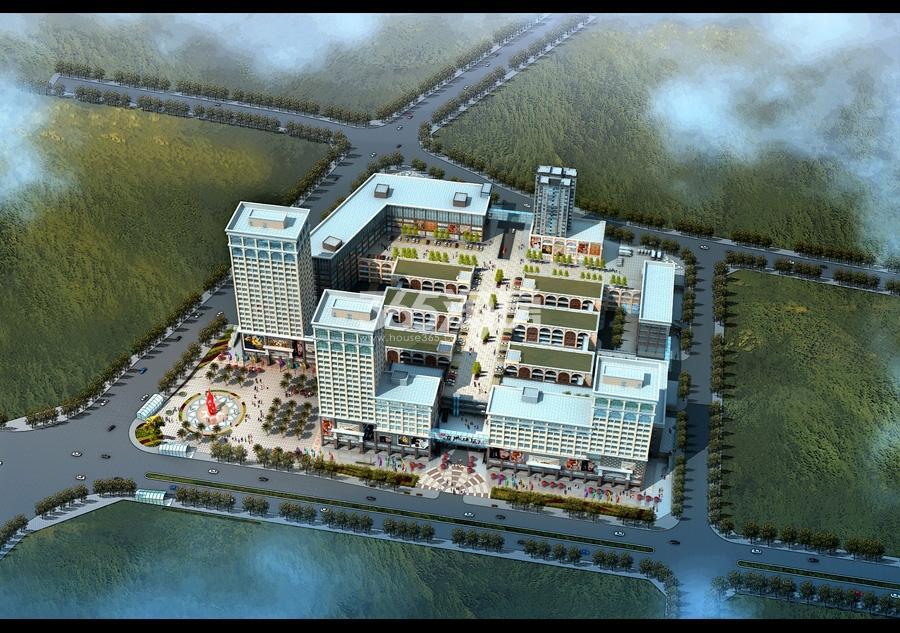 东城国际·智慧家居公园鸟瞰图