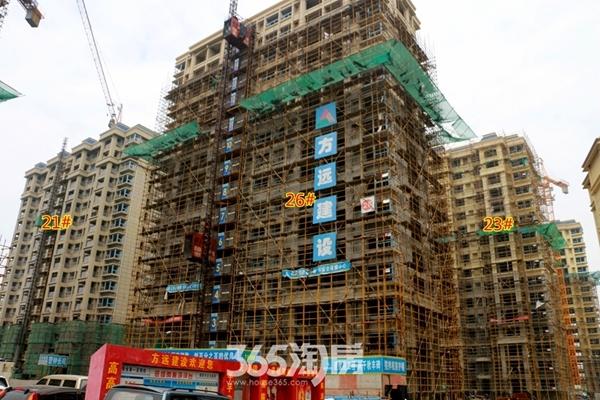 东方蓝海工程进度(2016.10摄)