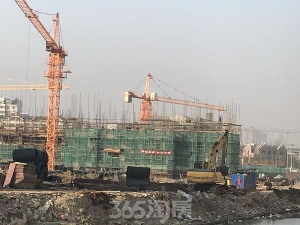 恒大御澜湾实景图(2016.12 摄)