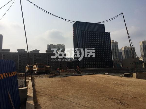 兰州中天健广场实景图(2017.2.10)