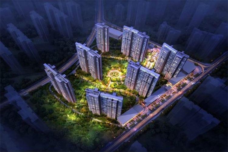 御锦城八期鸟瞰图