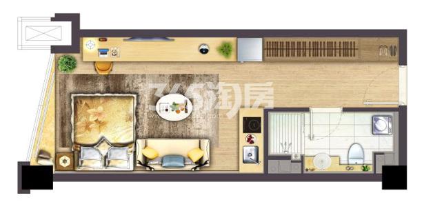 银城Kinma Q+社区3m平层公寓户型