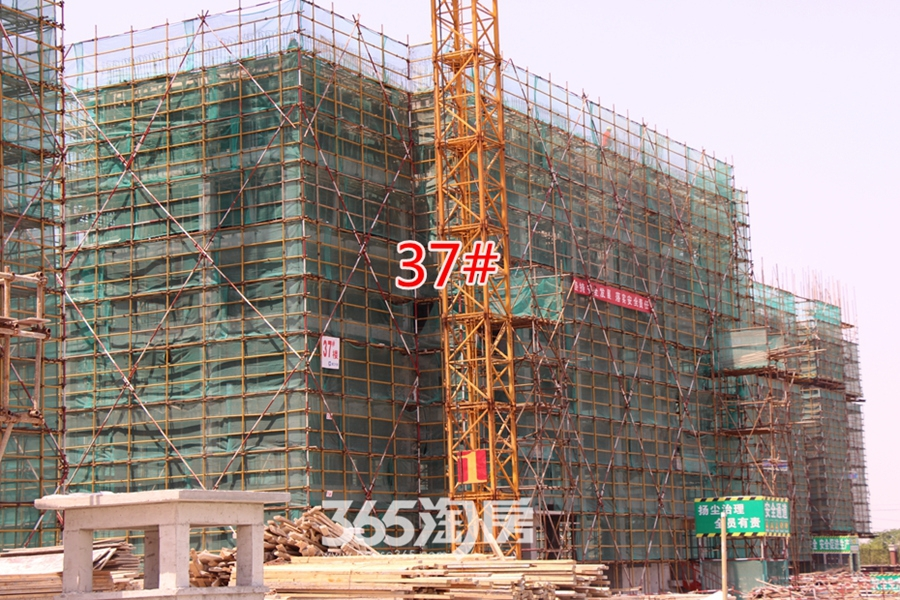 伟星玲珑湾藏岛工程进度(2017.5摄)