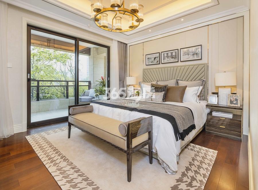 新城香悦公馆P2户型图180方样板房——二层卧室