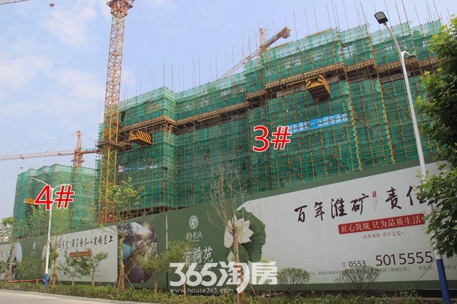 东方龙城清荷苑工程进度(2017.6摄)