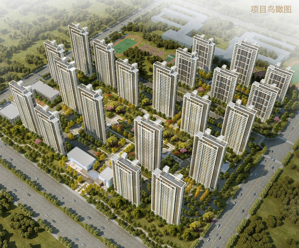 西子曼城鸟瞰图
