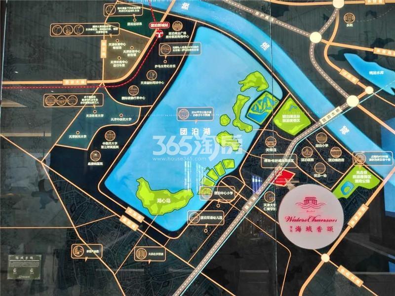 绿地海域香颂交通图