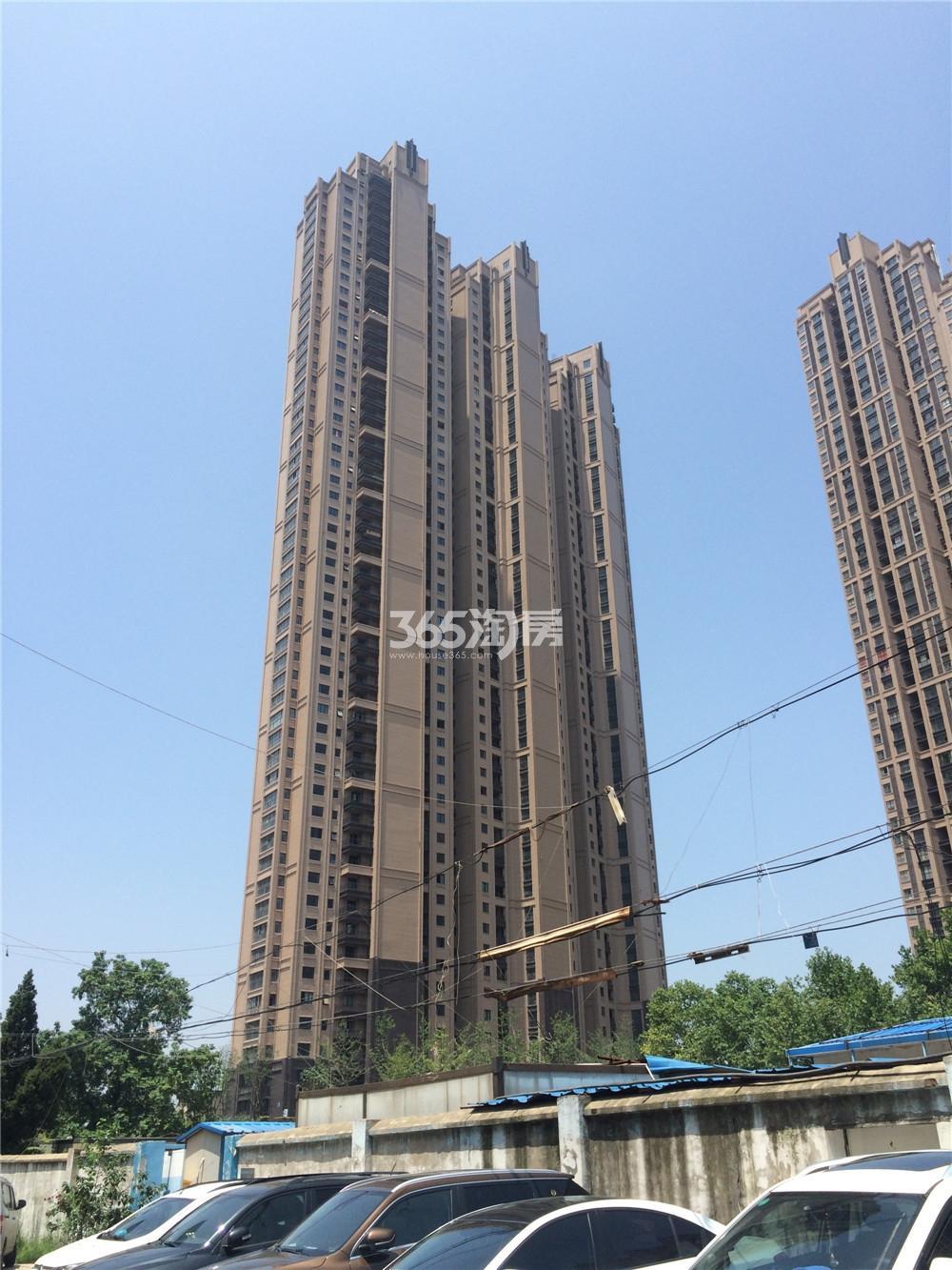 恒盛金陵湾4号楼已建好(7.21)
