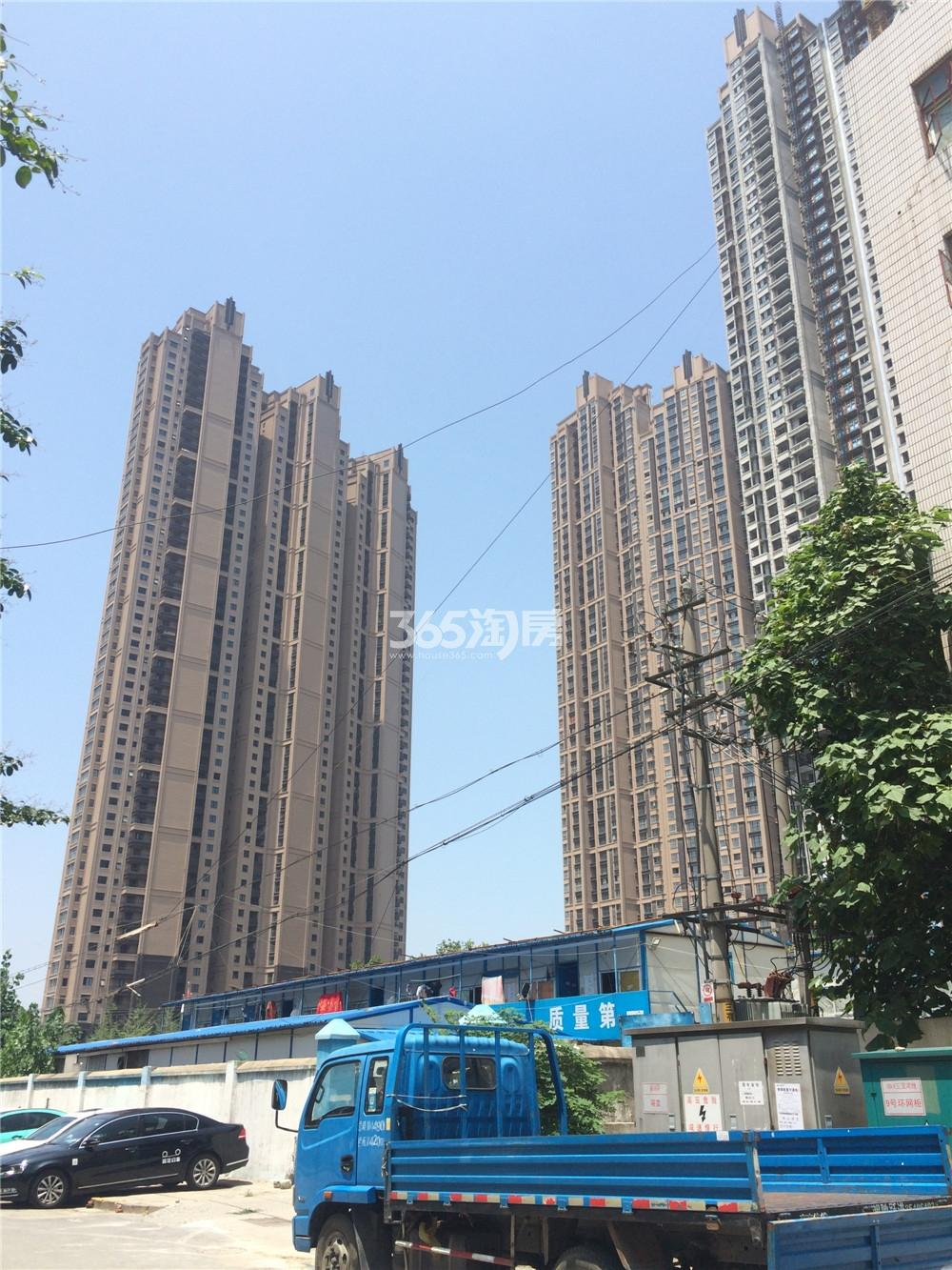 恒盛金陵湾4、5号楼实景图(7.21)