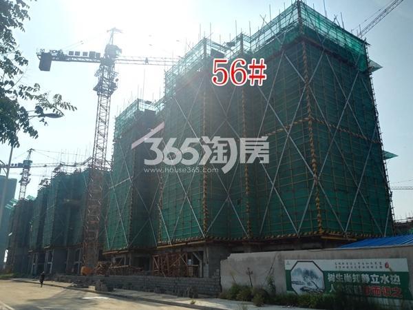绿地工润和平壹号四期56#工地实景图(8.16)