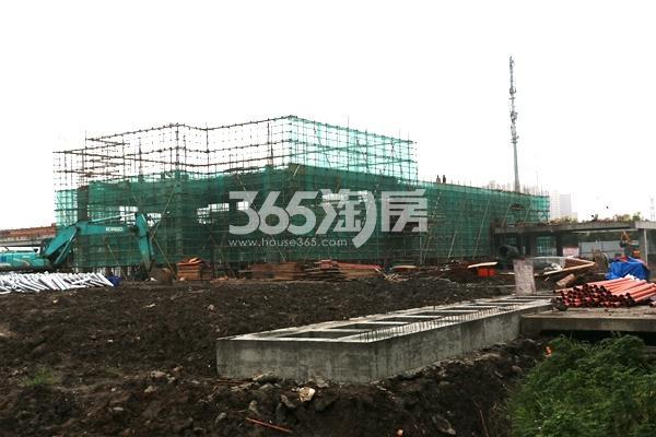 保利信达熙悦府工地正在施工(2017.9摄)