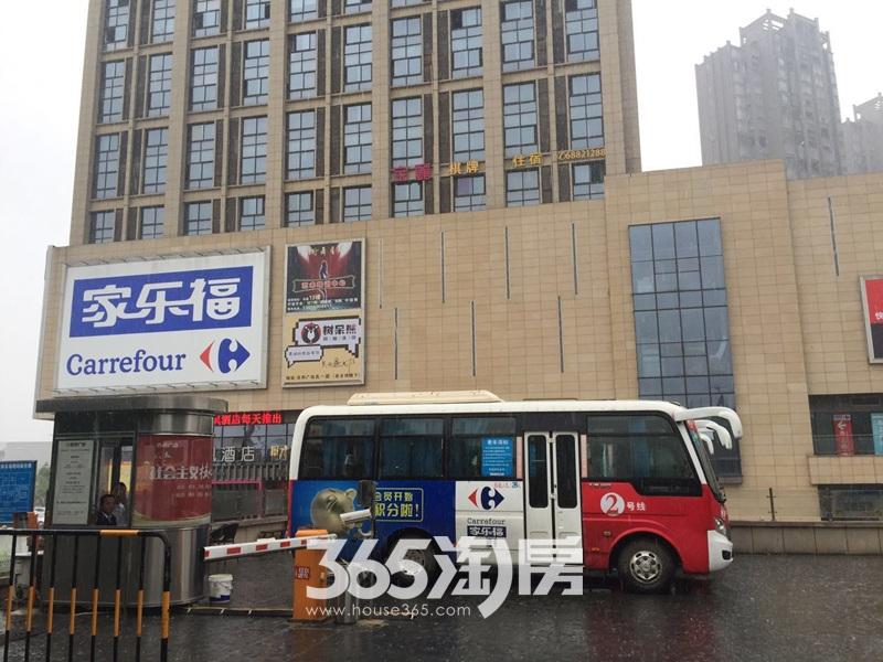 文一西溪湾周边商场配套实景图(2017.10.1)