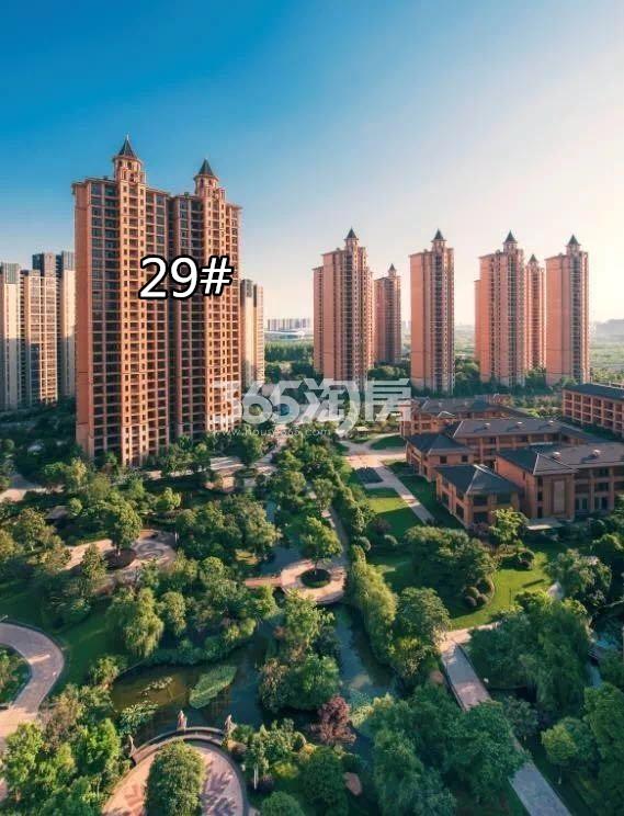 雅居乐滨江国际内部园林实景图(10.15)