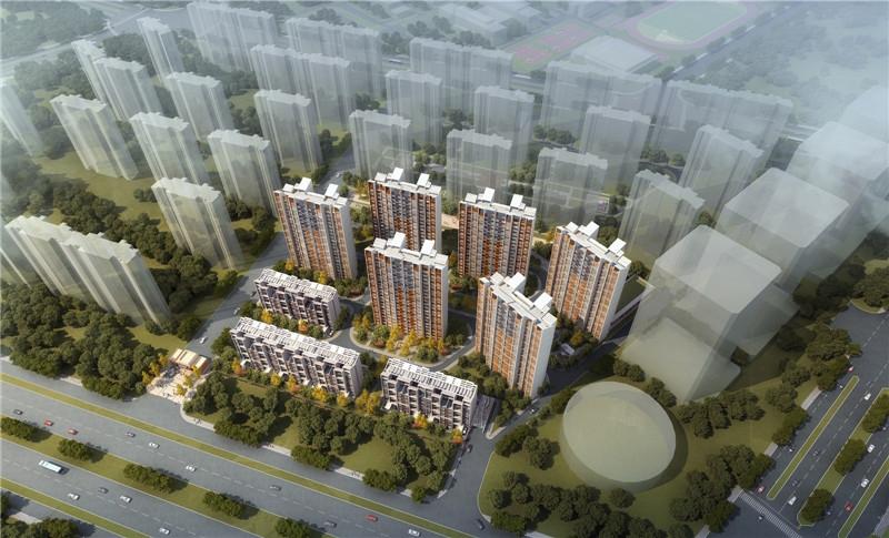启迪佳莲未来科技城二期鸟瞰图