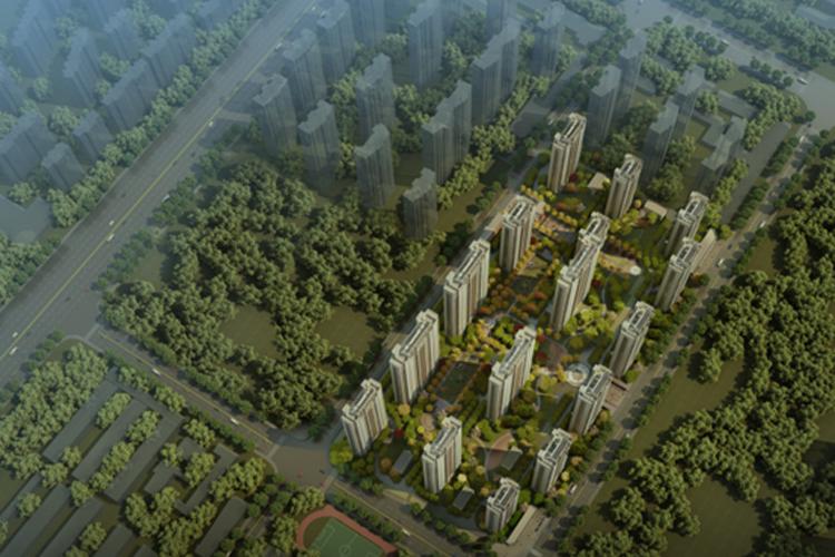 禹洲中央城鸟瞰图
