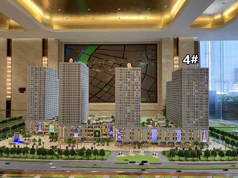 紫辉时代广场紫鑫中华广场三期紫晖鸟瞰图