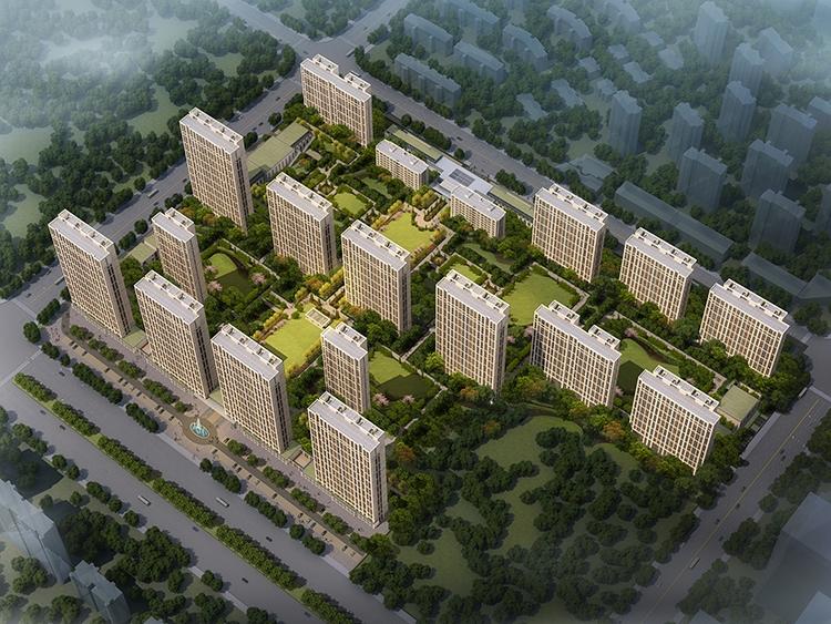 哈尔滨融创文旅城文旅城8#地鸟瞰图