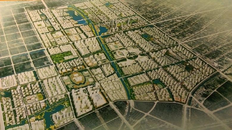 所谓东北片区基本上就是如东县新城区,这版规划中嘉陵江路段的重要性