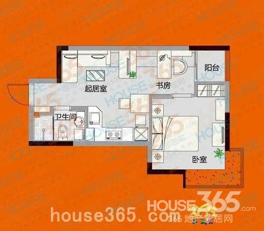单身公寓房屋设计图