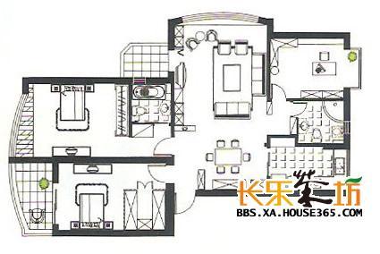 高清天花吊顶平面图设计图分享展示